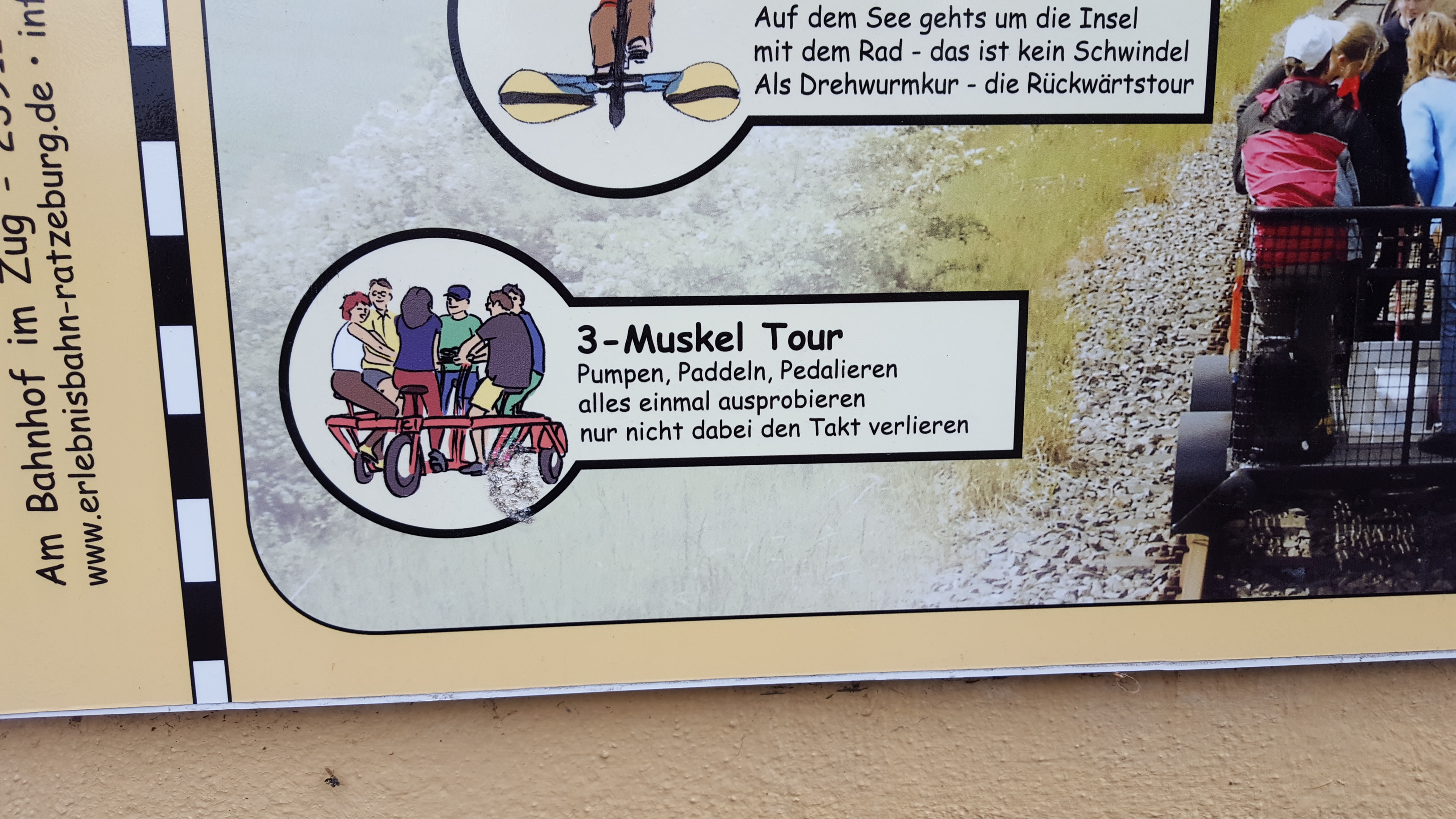 3-Muskel-Tour am Samstag 24.06.17